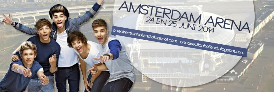 One Direction HOLLAND!