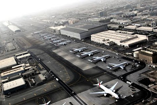 Dubai International Airport old and rare photo