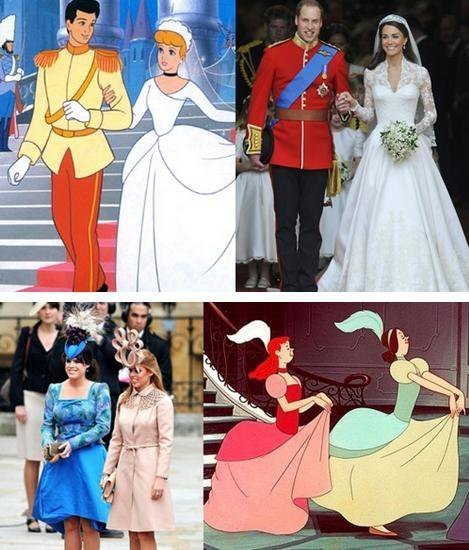 Prince+william+and+kate+middleton+cinderella+cartoon