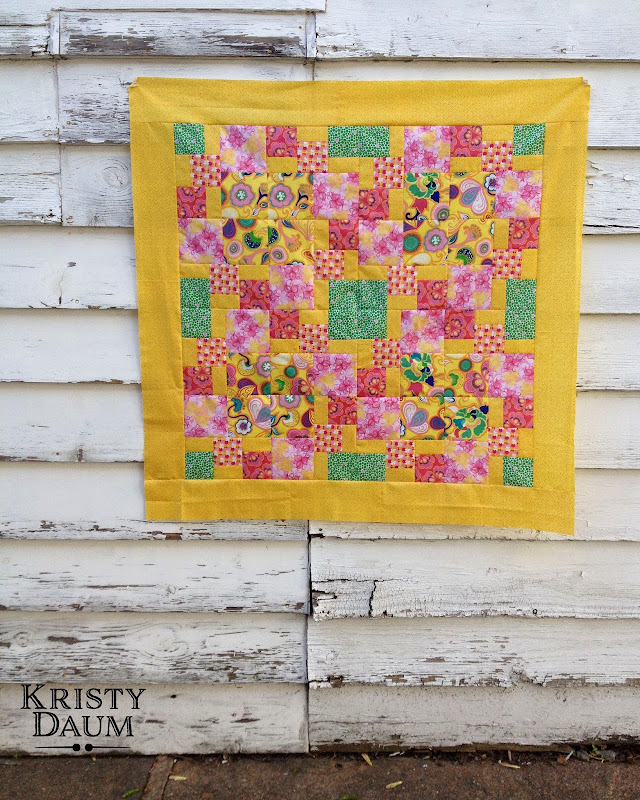 Kristy Daum Quilts, Bella Caronia, Windham Fabrics, Spring Bloom Fabric