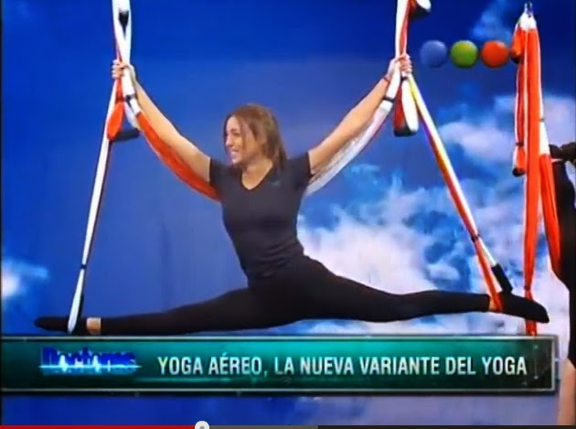 Yoga Aéreo Acrobático