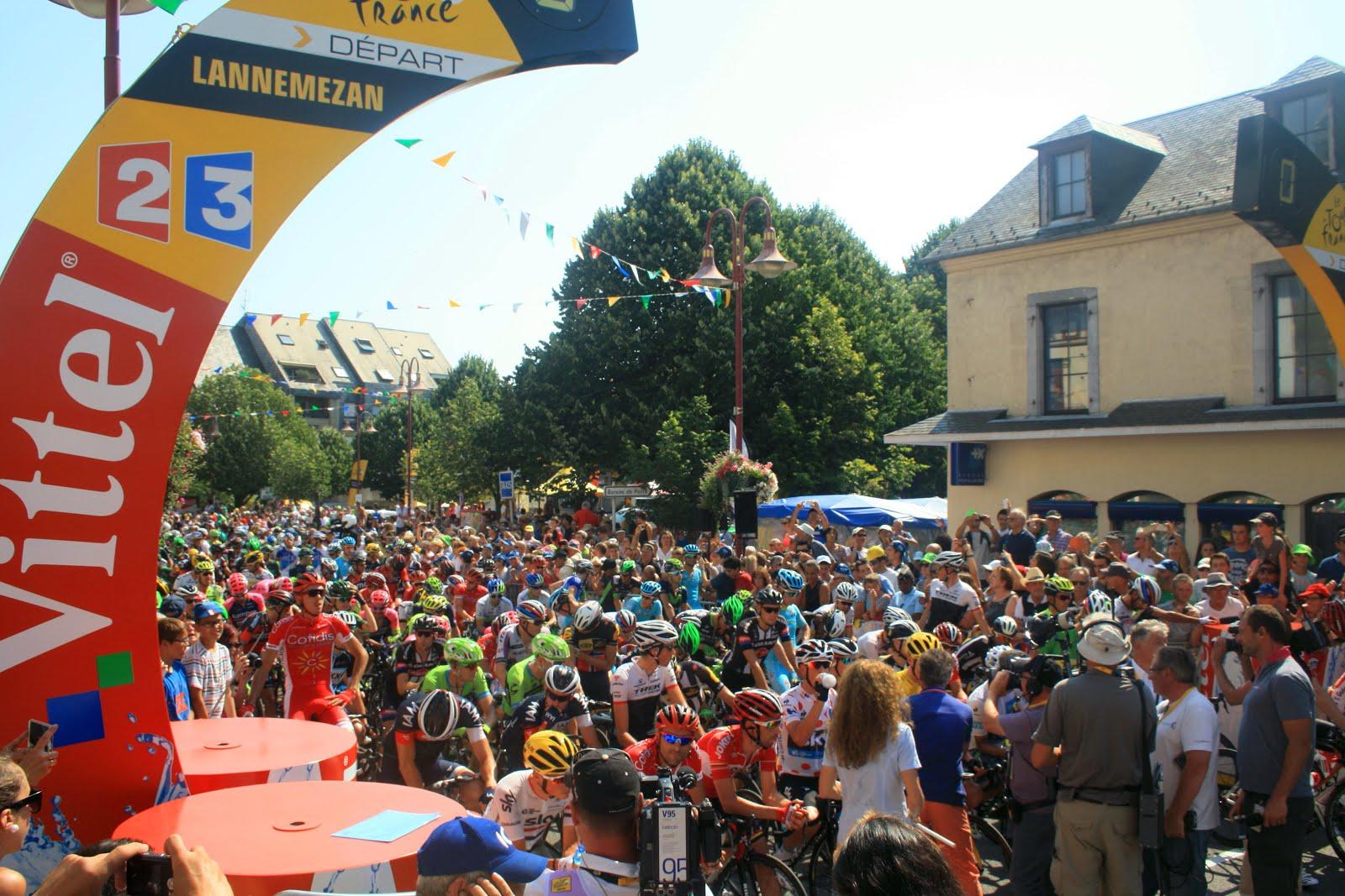 12° ETAPE DU TOUR DE FRANCE : LANNEMEZAN/PLATEAU DE BEILLE