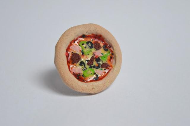 Pierścień Pizza + bransoletka