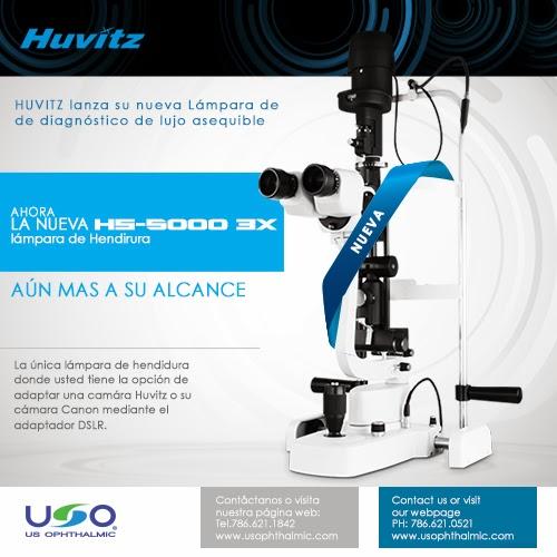 HS-5000 3X Lámpara de Hendidura - US Ophthalmic