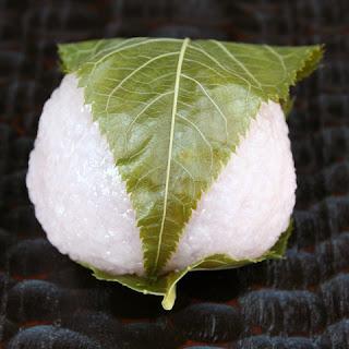 Kanto-style Sakuramochi japanese desert recipe