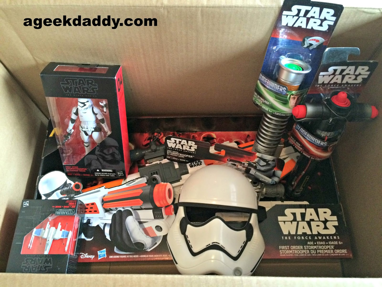 A GEEK DADDY The Force Awakens Hasbro s Star Wars Toy Line