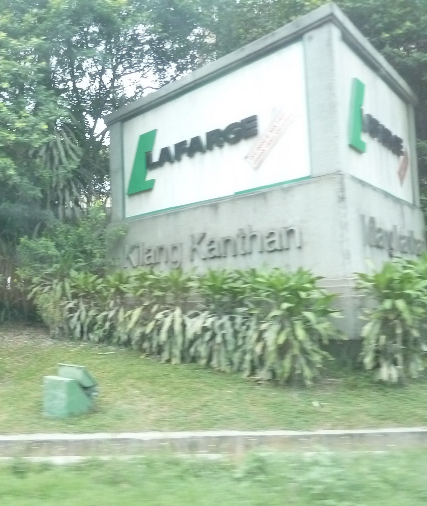 Associated Cement Companies : Caving in se asia lafarge quarry cement company at
