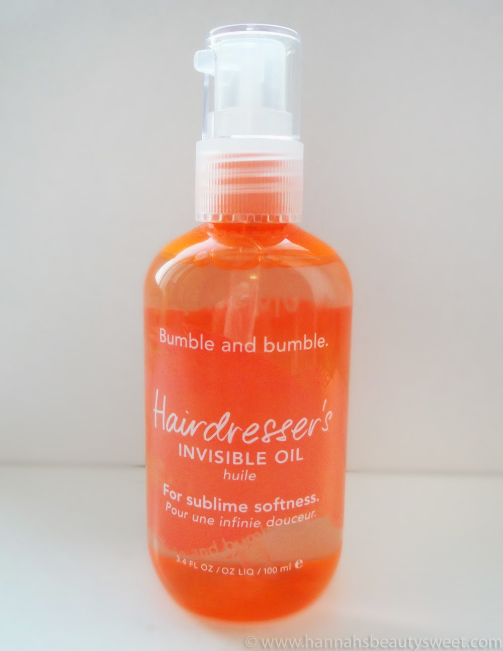 Bumble and Bumble, Bumble & Bumble, Hairdresser's Invisible Oil, hair care, heat protector