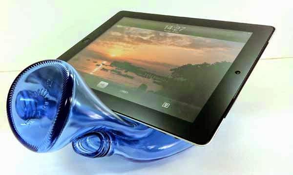 Soportes para Tablet con Botellas de Vidrio Recicladas