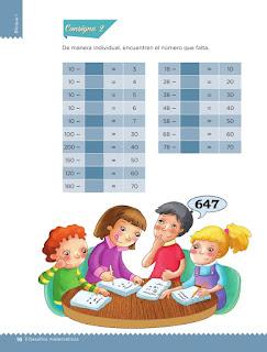 Apoyo Primaria Desafíos matemáticos 3er grado Bloque 1 lección 4 Rapidez mental