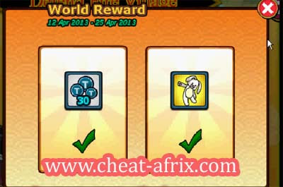 Free Claim 30 Token + Back Item Ninja Saga