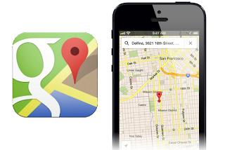 google maps application for iphone