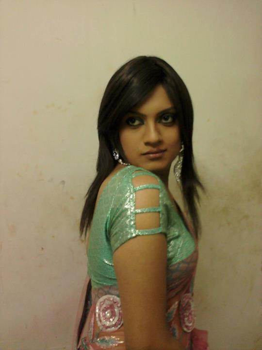Beautiful Indian Crossdresser In Saree