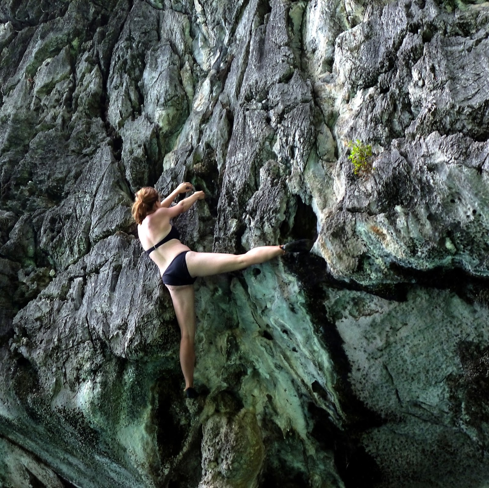 Deep Water Soloing in Koh Phi Pi  Fuel for Life