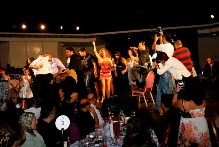 Photos de Myriam Fares en concert à Beyrouth