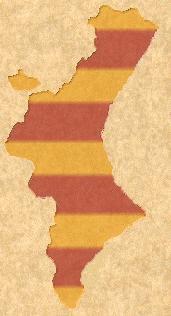Mapa del País Valencià