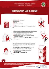 Guía de Guía de Autoprotección: Ante un incendio.