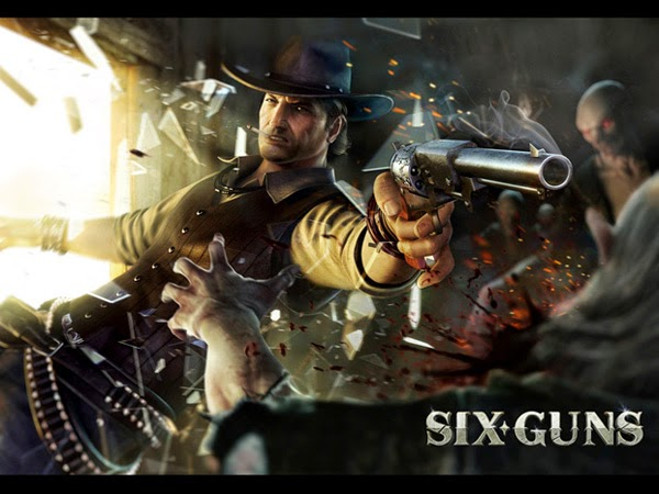 Six Guns 2.5.0 MOD APK+DATA (Unlimited Money)