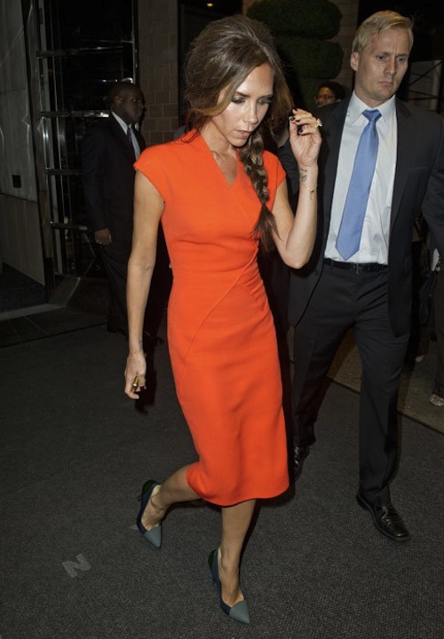 about last weekend  The Victoria Beckham Dart-Dress Diet 01daf3614