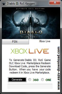 Diablo III Reaper of Souls Keygen