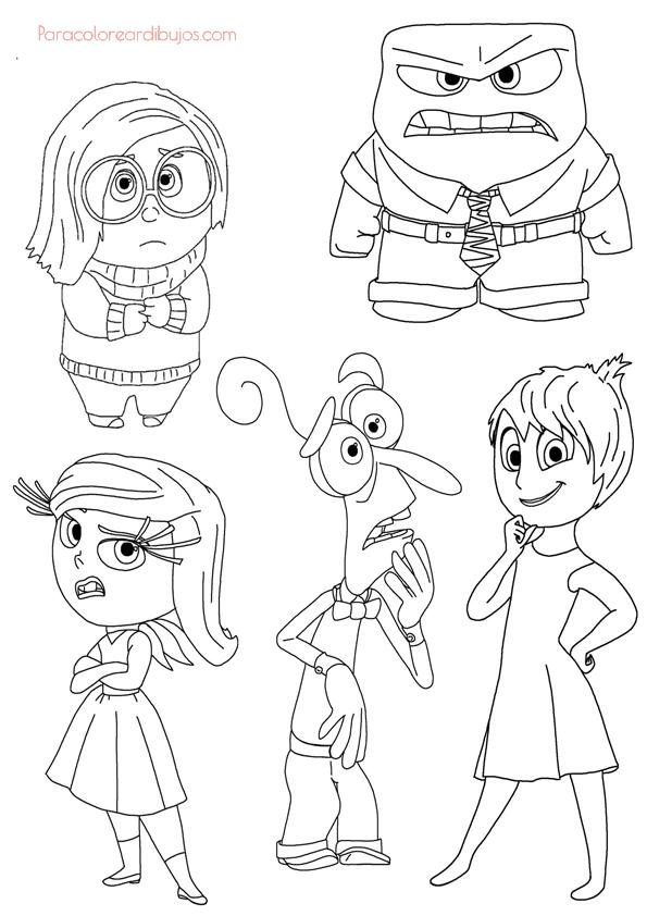 dibujos personajes del reves