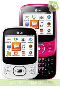 LG C320 InTouch Lady slider phone announced in the Netherlands