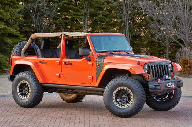 The Happy Car Salesman Jeep Wrangler Mojo Concept Revealed