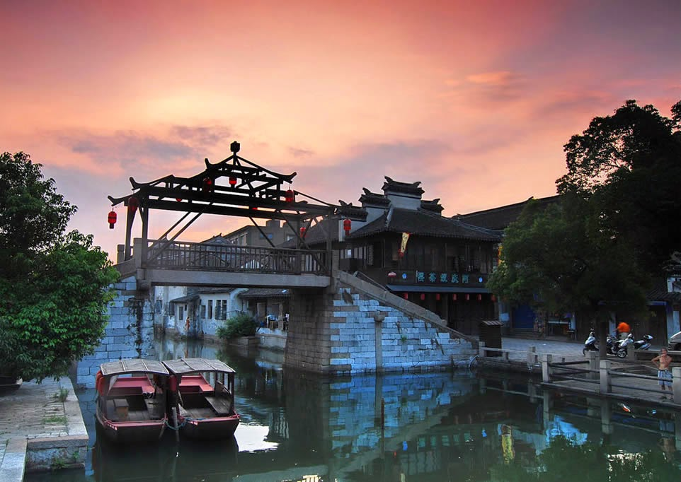Suzhou City in China