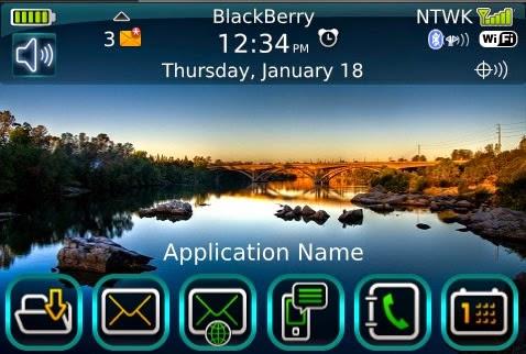 Merubah Tampilan BlackBerry