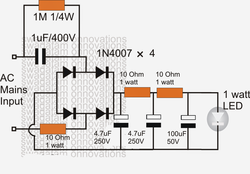 Electric Light Bulb Schematic in addition For 48 Inch Fluorescent Lights Wiring Diagrams furthermore Metalhalide further H4 H13 9004 9007  mon Bi Xenon Hid Kit Problems Highlow Beam Reverse moreover How To Make Simplest 1 Watt Led Driver. on led light bulb wiring diagram