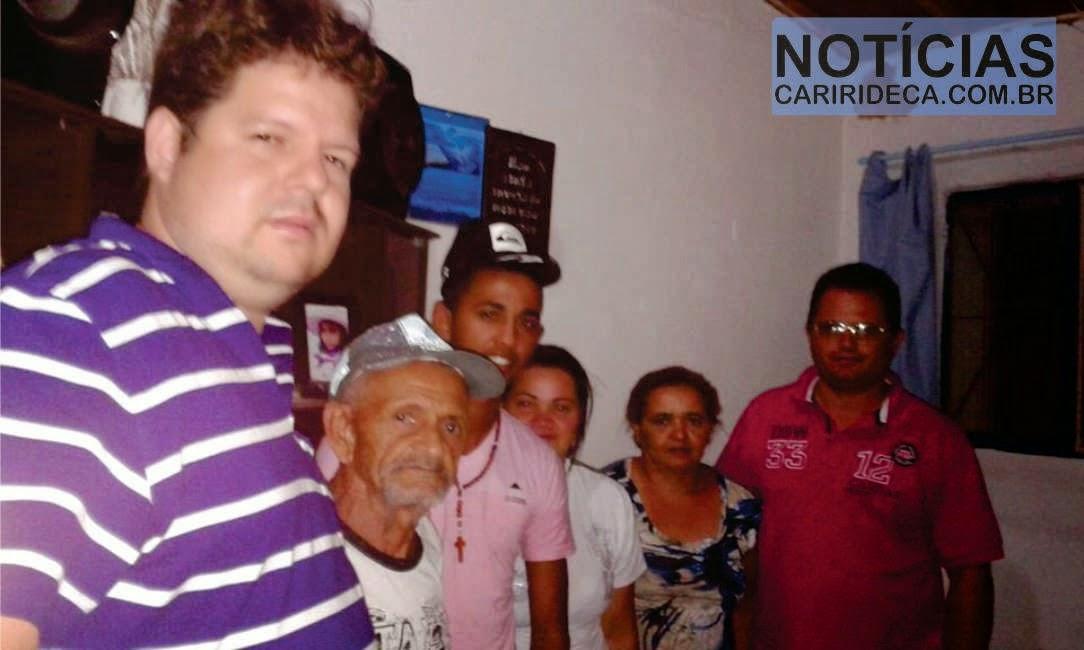 Dr. Júnior recebe adesões no município de Ouro Velho