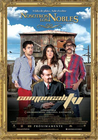 Nosotros los Nobles DVDRip Español Latino