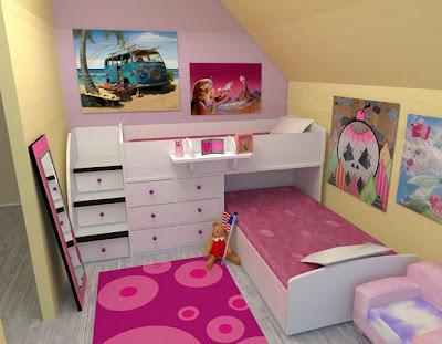 Dormitorios infantiles recamaras para bebes y ni os dormitorio infantil peque o compartido - Dormitorios infantiles pequenos ...