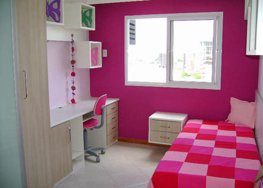 Sweet Paradise Decoração  quarto feminino pequeno  ~ Quarto Pequeno Simples