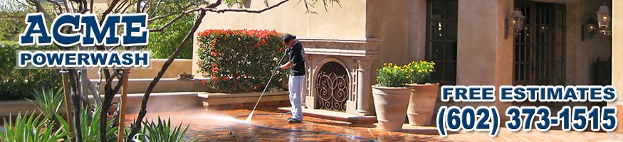 Pressure Washing Phoenix -- ACME Powerwash Blog