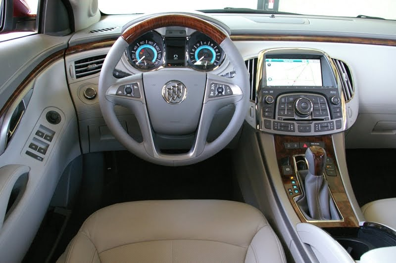 Sports Car Buick Lacrosse Interior 2011