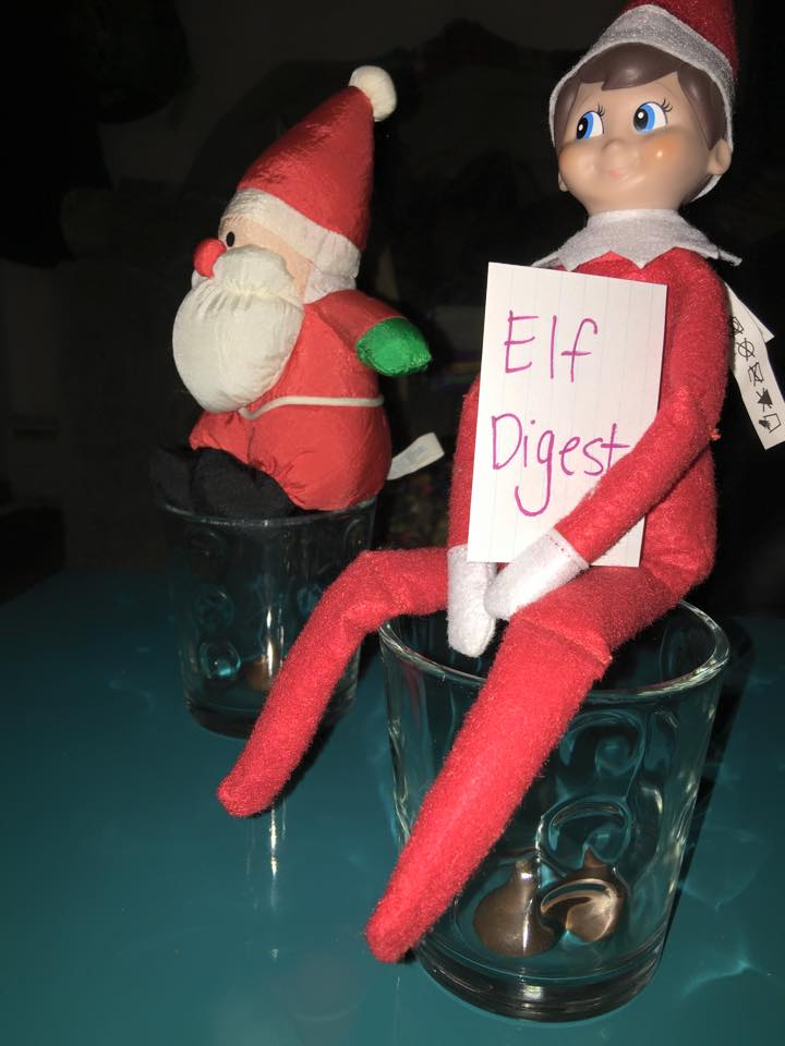Mrs brimbles elf on the shelf for Elf on the shelf pooping on cookies