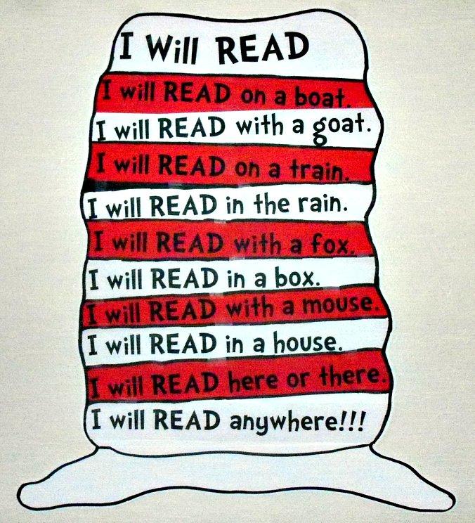 I Imagine Inspire Innovate Read Across America