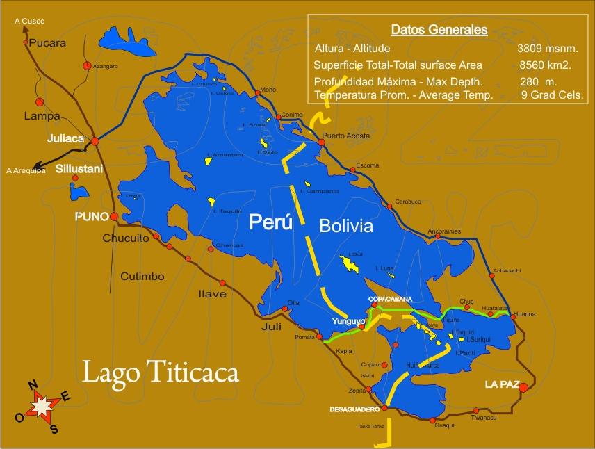 El lago titicaca como llegar al lago titicaca for Como llegar al ministerio del interior