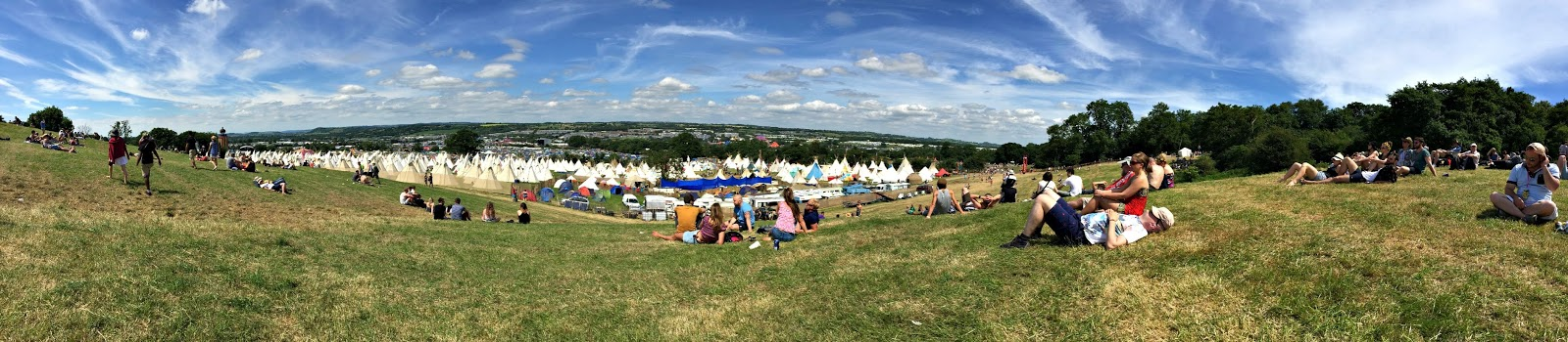 Glastonbury panorama
