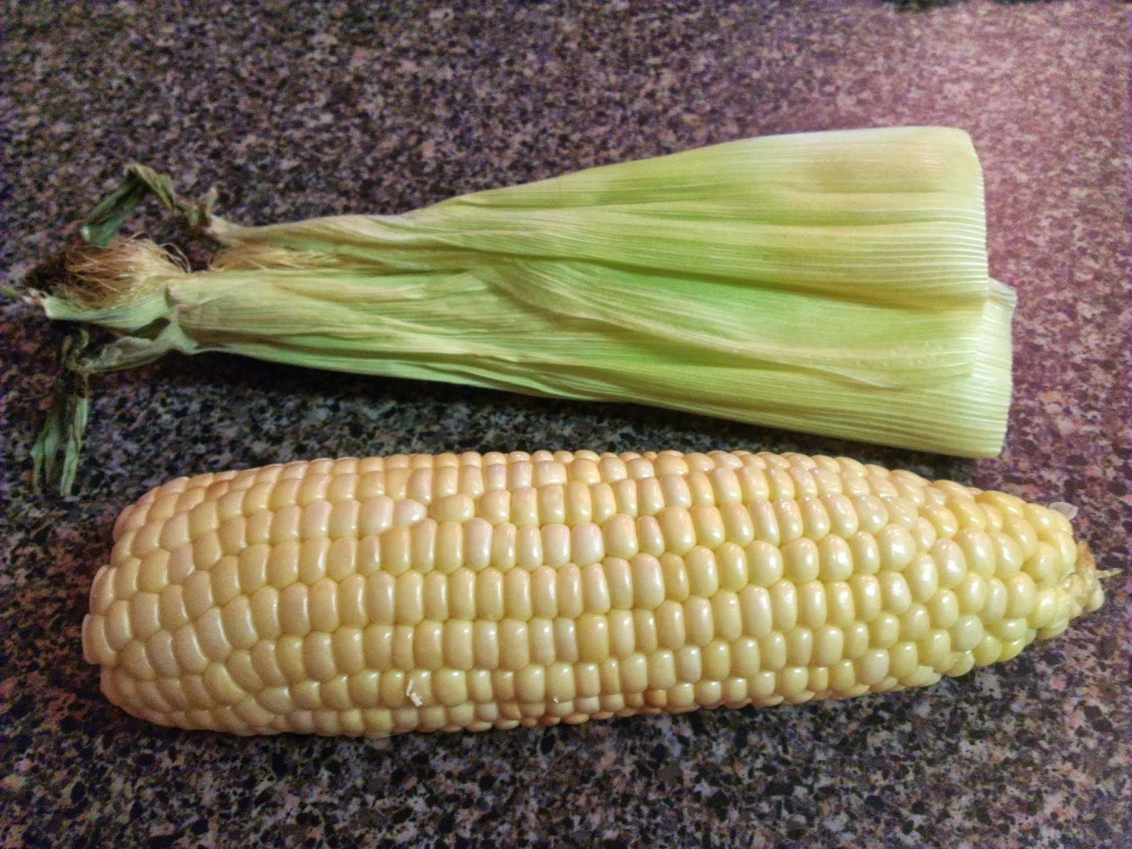 how to take corn off the cob and cook it