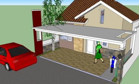 gambar jenis genteng untuk atap rumah minimalis model baru