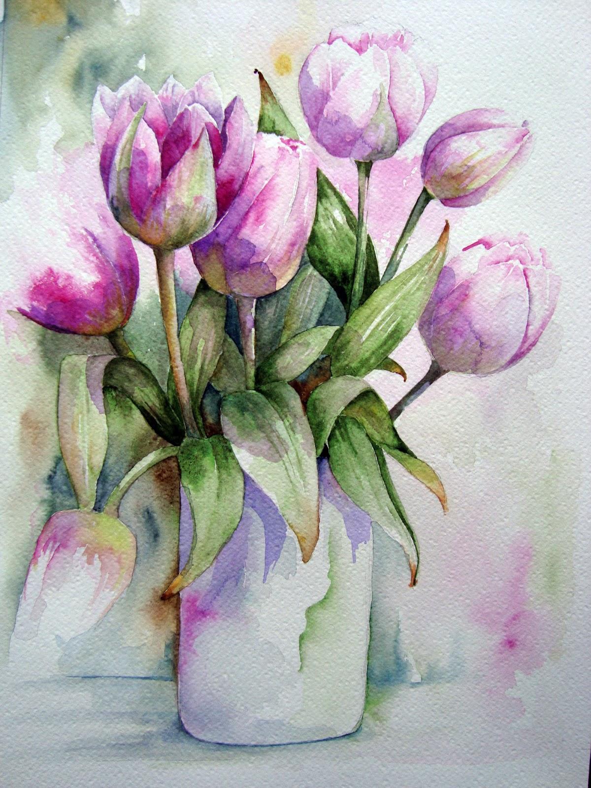 spring a vase art - photo #12