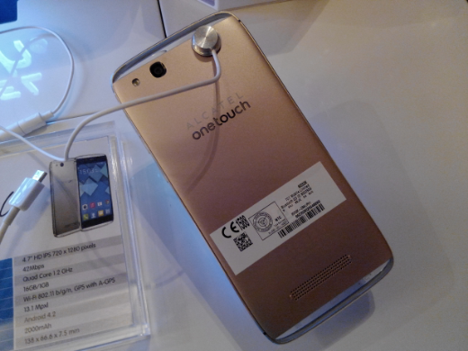 Alcatel One Touch Idol Alpha Introduced, Beautiful Quad-core Android for P12,999