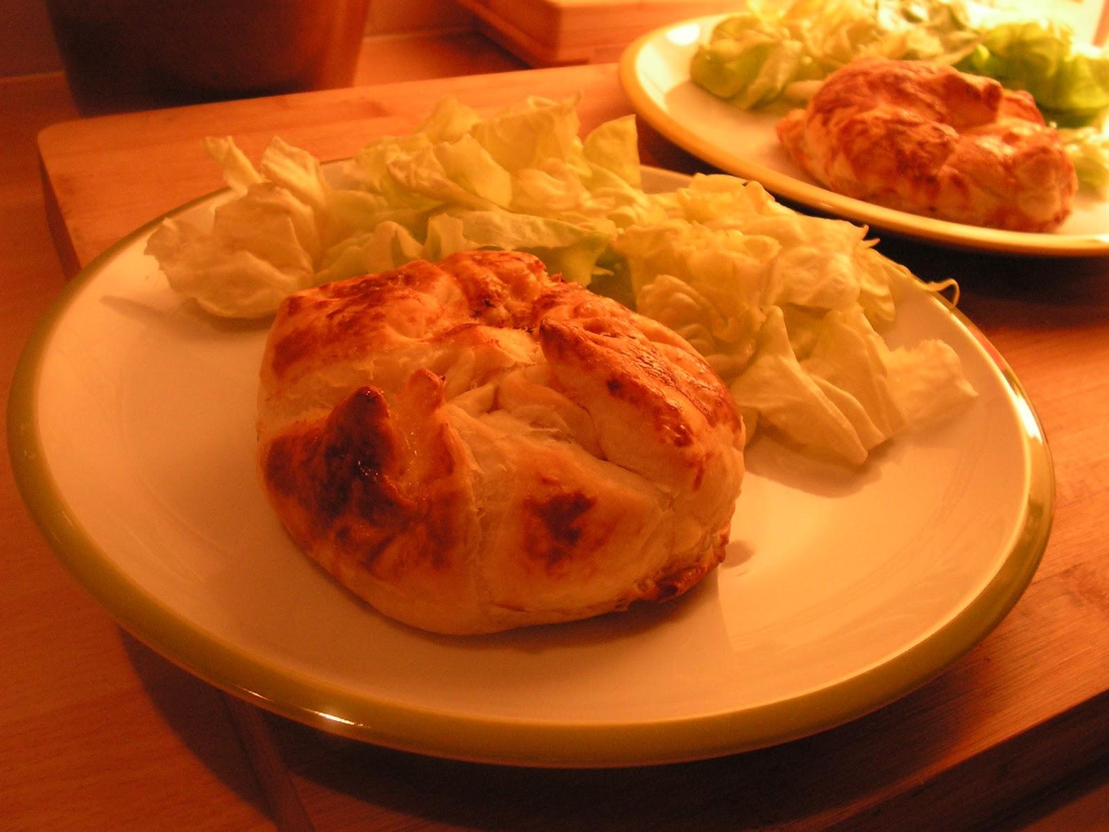 Cuisine loisir croustade au poulet r ti - Cuisiner un poulet roti ...