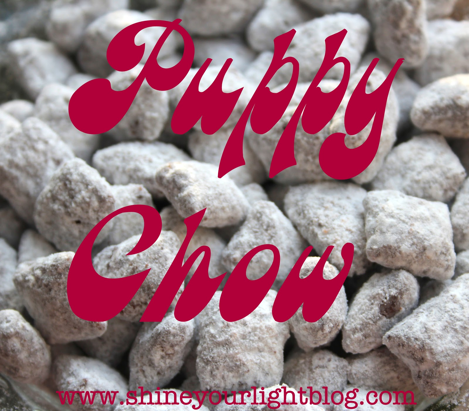 christmas goodies puppy chow - Christmas Puppy Chow