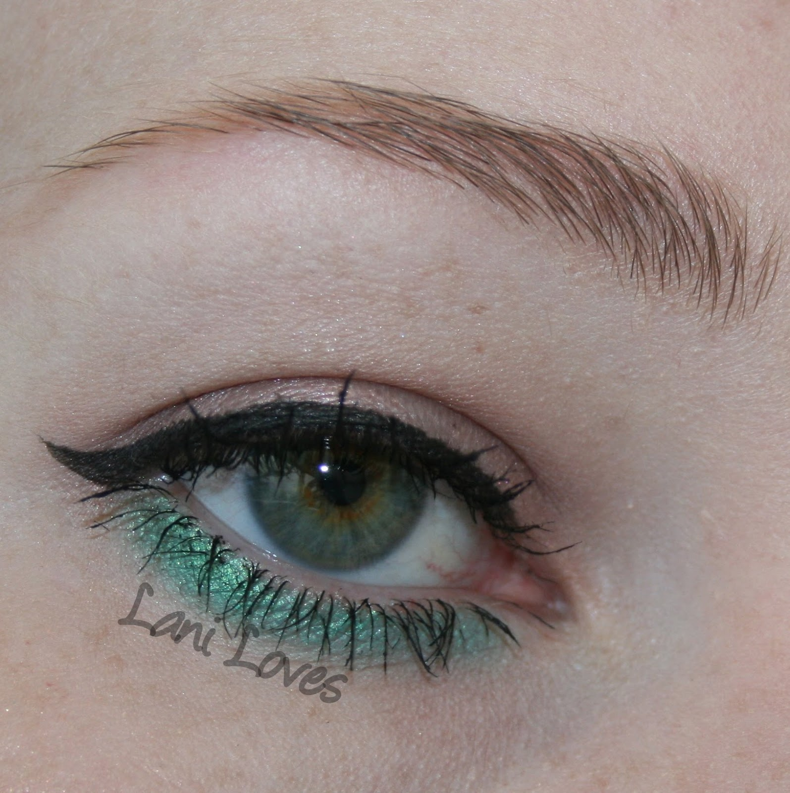 Femme Fatale Cosmetics Emerald Dream EOTD