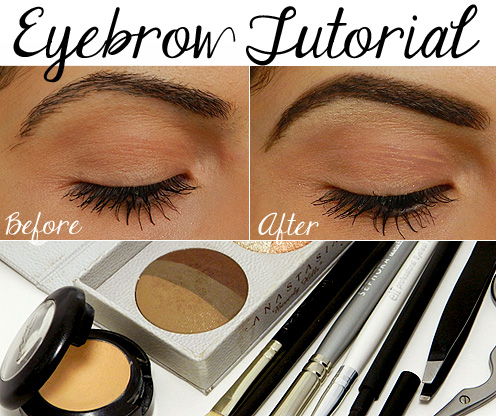 makeup tutorial blogger: Step by Step Eyebrow Filling Tutorial.
