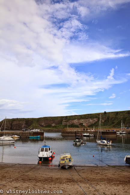 Stonehaven, Scotland, boats