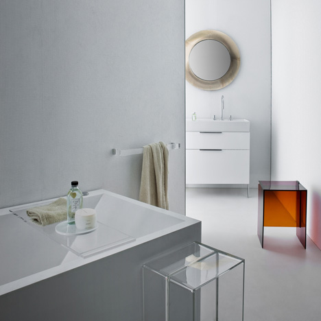 Original KartellUk Purity Bathroom Furniture White